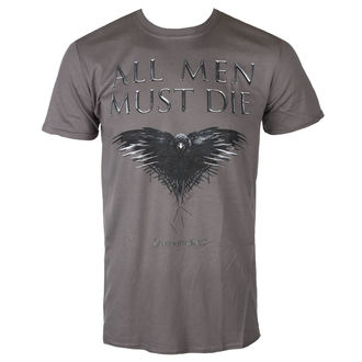 film t-shirt men's Hra o trůny - ALL MEN MUST DIE - PLASTIC HEAD, PLASTIC HEAD