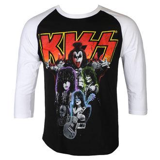 t-shirt metal men's Kiss - NEON BAND - PLASTIC HEAD, PLASTIC HEAD, Kiss