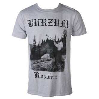 t-shirt metal men's Burzum - FILOSOFEM 3 2018 - PLASTIC HEAD, PLASTIC HEAD, Burzum