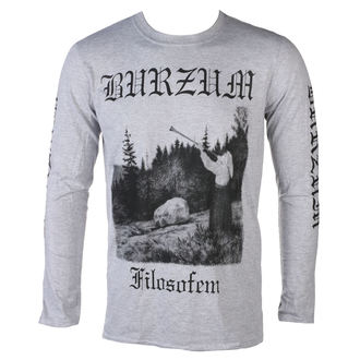 t-shirt metal men's Burzum - FILOSOFEM 3 - PLASTIC HEAD, PLASTIC HEAD, Burzum