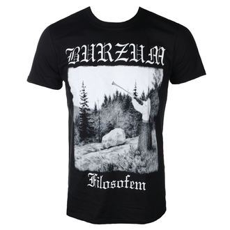 t-shirt metal men's Burzum - FILOSOFEM 2018 - PLASTIC HEAD, PLASTIC HEAD, Burzum