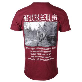 t-shirt metal men's Burzum - FILOSOFEM 2018 (MAROON) - PLASTIC HEAD - PH10858