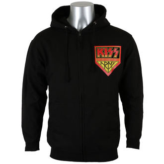 hoodie men's Kiss - ARMY - PLASTIC HEAD - PH10389HSWZ