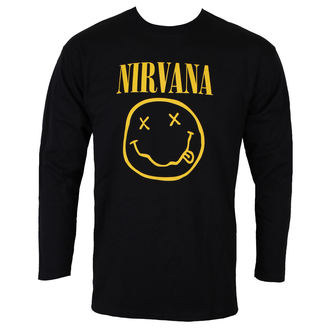 t-shirt metal men's Nirvana - SMILEY LOGO - PLASTIC HEAD, PLASTIC HEAD, Nirvana