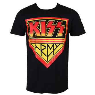 t-shirt metal men's Kiss - KISS ARMY - PLASTIC HEAD, PLASTIC HEAD, Kiss