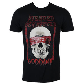 t-shirt metal men's Avenged Sevenfold - GODDAMN - PLASTIC HEAD, PLASTIC HEAD, Avenged Sevenfold