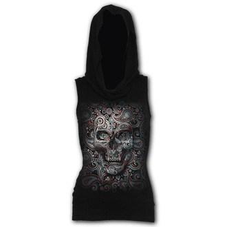 Women's sleeveless t-shirt (tank top) SPIRAL - SKULL ILLUSION, SPIRAL