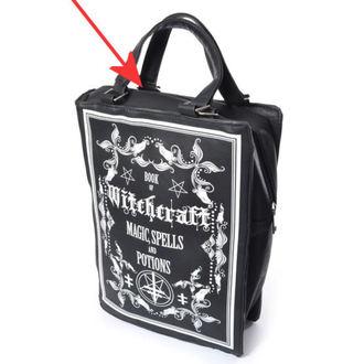 handbag (bag) POIZEN INDUSTRIES - WITCHCRAFT - BLACK - DAMAGED, POIZEN INDUSTRIES