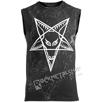 Men's tank top AMENOMEN - PENTAGRAM - WHITE, AMENOMEN