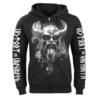 hoodie men's - ODIN - VICTORY OR VALHALLA, VICTORY OR VALHALLA