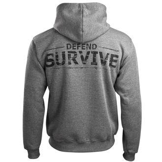 hoodie men's - Zombie Defand Surive - ALISTAR, ALISTAR