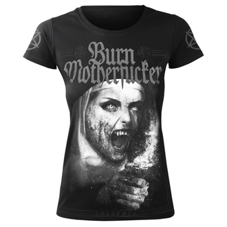 t-shirt hardcore women's - BURN MOTHERFUCKER - AMENOMEN, AMENOMEN