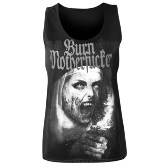 Women's tank top AMENOMEN - BURN MOTHERFUCKER, AMENOMEN