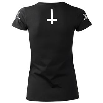 t-shirt hardcore women's - SATAN IS REAL - AMENOMEN, AMENOMEN