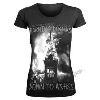 t-shirt women's - BURNING DOGMAS - VICTORY OR VALHALLA, VICTORY OR VALHALLA