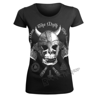 t-shirt women's - THE MAN, THE MYTH, THE LEGEND - VICTORY OR VALHALLA - KDAM-271