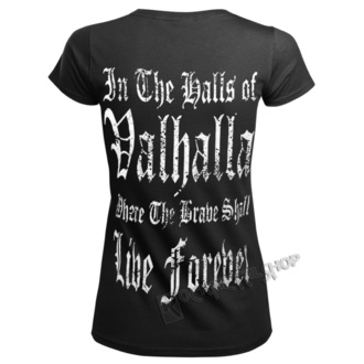 t-shirt women's - VIKING WARRIOR - VICTORY OR VALHALLA, VICTORY OR VALHALLA