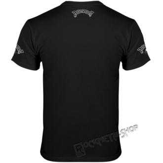 t-shirt hardcore men's - HAIL SATAN AND TRUST NO ONE - AMENOMEN, AMENOMEN
