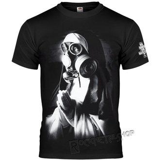 t-shirt hardcore men's - NUN IN GASMASK - AMENOMEN, AMENOMEN