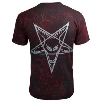 t-shirt hardcore men's - TWO POPES - AMENOMEN - OMEN017KM ALLPRINT RED