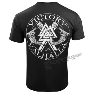 t-shirt men's - GODS AND RUNES - VICTORY OR VALHALLA, VICTORY OR VALHALLA