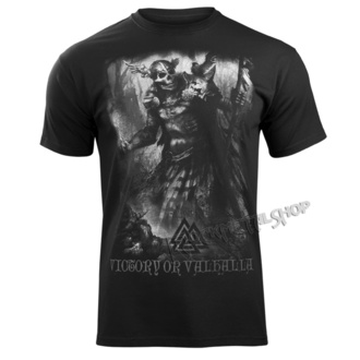 t-shirt men's - IN MEMORY OF VIKING - VICTORY OR VALHALLA, VICTORY OR VALHALLA