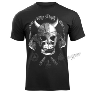 t-shirt men's - THE MAN, THE MYTH, THE LEGEND - VICTORY OR VALHALLA, VICTORY OR VALHALLA