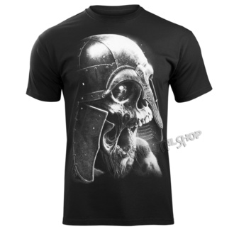 t-shirt men's - VIKING SKULL - VICTORY OR VALHALLA - KSZP-795