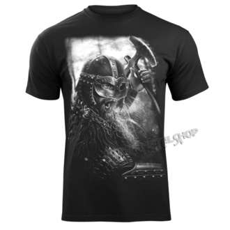 t-shirt men's - VIKING WARRIOR - VICTORY OR VALHALLA, VICTORY OR VALHALLA