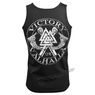 Top Men's VICTORY OR VALHALLA - GODS AND RUNES, VICTORY OR VALHALLA