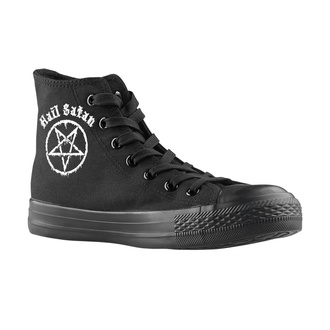 high sneakers unisex - Hail Satan - AMENOMEN, AMENOMEN