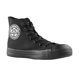 high sneakers unisex - Pentagramus - AMENOMEN, AMENOMEN