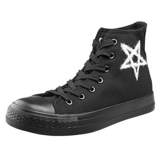 high sneakers unisex - Pentagram - AMENOMEN, AMENOMEN