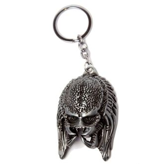 Key Ring (Pendant) PREDATOR'S HEAD IN GOLD - METAL - LEGEND, LEGEND, Alien - Vetřelec