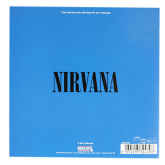 Greeting Card Nirvana - ROCK OFF, ROCK OFF, Nirvana