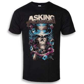 t-shirt metal men's Asking Alexandria - Hat Skull - ROCK OFF, ROCK OFF, Asking Alexandria