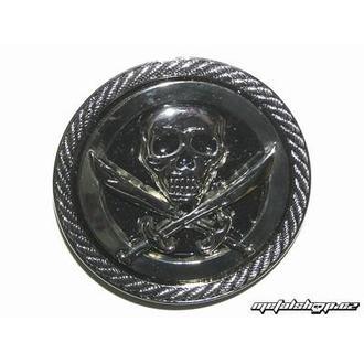 buckle for leather belt Skull 16