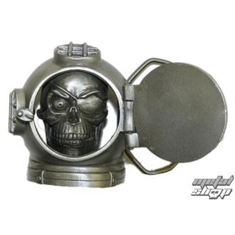 buckle for leather belt Skull 37