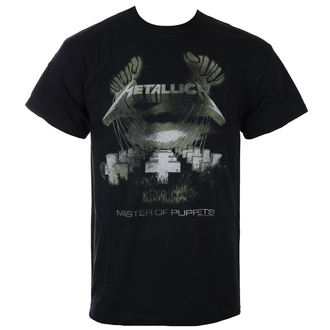 t-shirt metal men's Metallica - Master Of Puppets -, Metallica