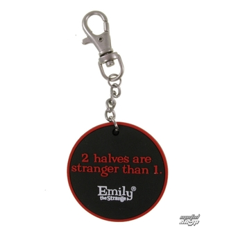 pendant EMILY THE STRANGE - Emily (E1092312) Two Halves keychain