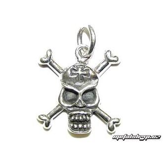 silver pendant Skull 6 (93)