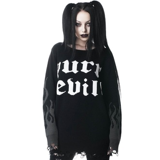 Women's sweater KILLSTAR - Purr Evil - KSRA001193