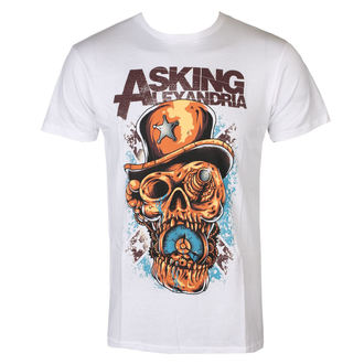 t-shirt metal men's Asking Alexandria - Stop The Time - ROCK OFF, ROCK OFF, Asking Alexandria