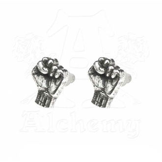 Earrings Rage Against The Machine - Fist - ALCHEMY GOTHIC, ALCHEMY GOTHIC, Rage against the machine