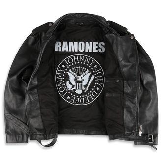 leather jacket Ramones - BLACK - NNM