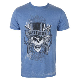 t-shirt metal men's Guns N' Roses - Faded Skull - ROCK OFF, ROCK OFF, Guns N' Roses