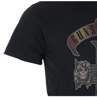 t-shirt metal men's Guns N' Roses - Appetite Cross Vintage - ROCK OFF, ROCK OFF, Guns N' Roses