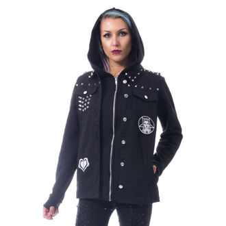 spring/fall jacket women's - REBEL WEDNESDAY - HEARTLESS