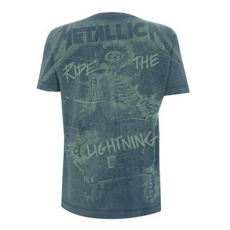 t-shirt metal men's Metallica - Ride The Lightening A/O -, Metallica
