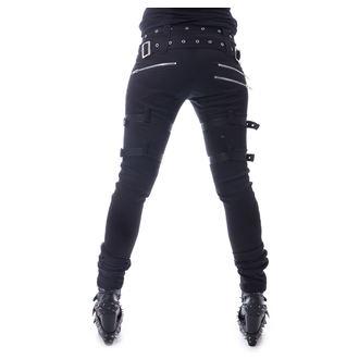 Women's trousers HEARTLESS - RESTRICTION - BLACK, HEARTLESS